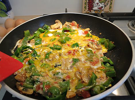 Sonntags-Omelett mit Frigggitelli