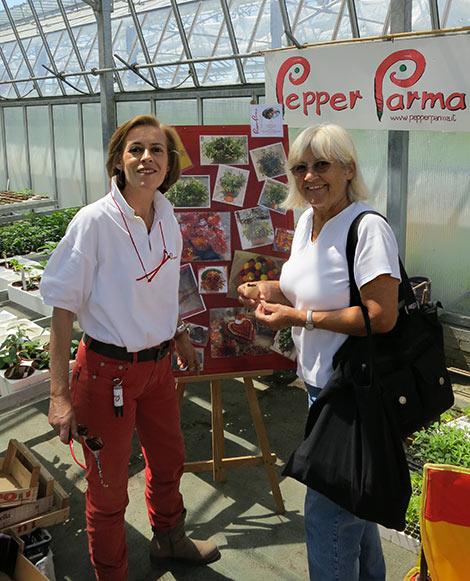 Manuela (PepperParma) und Renate (Pepperworld)