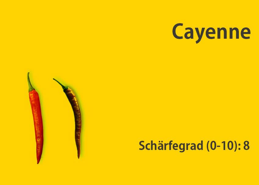 Cayenne </br> Chili-Sorte