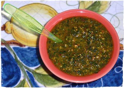 Bärlauch-Pesto pikant