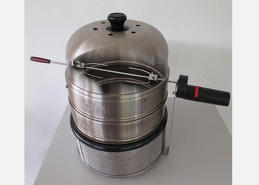 Cobb Grill Zubehör - Rotisserie Drehspieß selbst gebaut </br>(Pimp my Cobb 3)