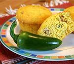 Corn Bread Chili Muffins