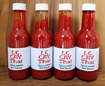 LC Cay Thai Hot Sauce