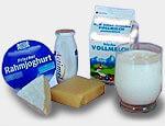 Was hilft gegen Schärfe? Käse, Milch und weitere fetthaltige Produkte.