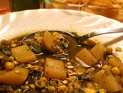 Roasted Poblano Potato Stew | Pepperworld