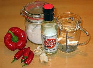 scharfe Chili-Sauce