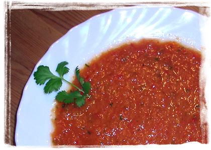 Scharfe Tomatensuppe (Zuppa Piccante al Pomodoro)