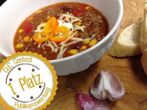 Rezept für Chili con Carne</br> ++ Natalies Nacho CcC ++