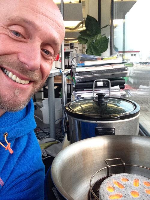 COBB-Selfie vom PepperPeer