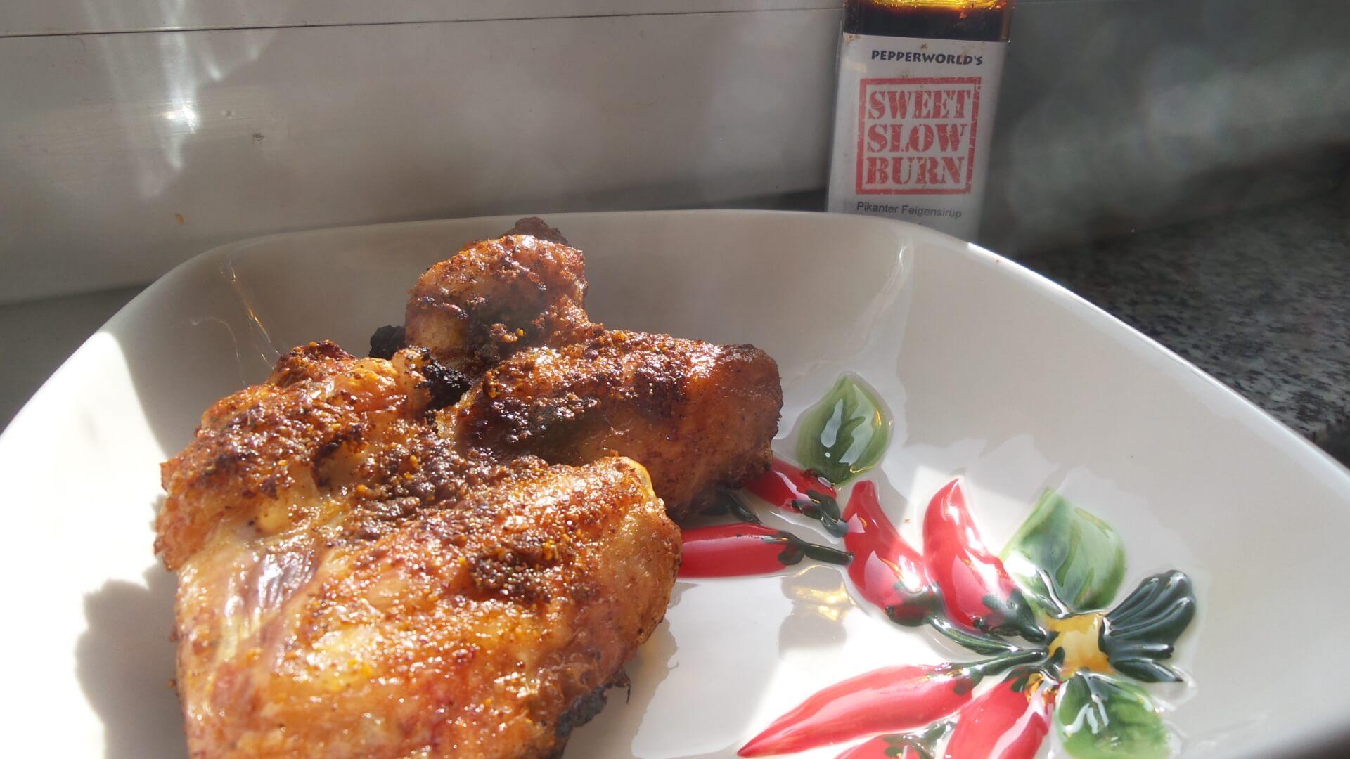 Italien Inspiriertes Chicken Wings Rezept vom Cobb Grill