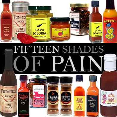 Scharf essen bis zur Ekstase: </br>FIFTEEN SHADES OF PAIN