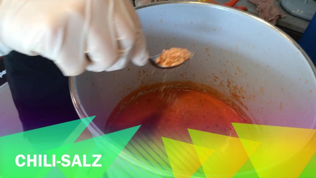 Hot Sauce abschmecken