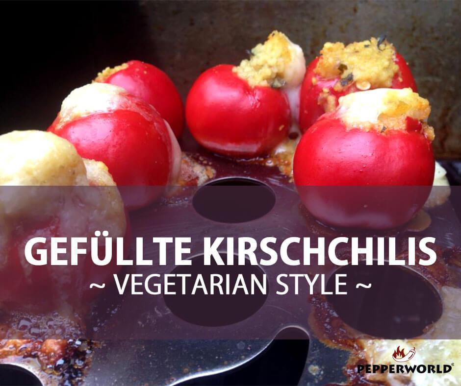 Gefüllte Kirschchilis - Vegetarian Style