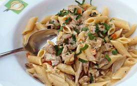 Cajun Mushroom Pasta