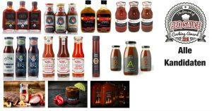 BBQ Sauce Cooking Award 2016 - Unsere Teilnehmer