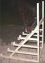 Chili-Treppe: Seitenansicht
