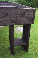 Hochbeet Detail