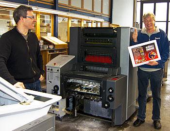 Andreas Kling und Harald Zoschke bei der Produktion von CHILI BARBECUE