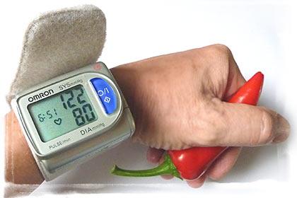 Chilischärfe soll Blutdruck senken