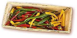 Frische Chilis vom Viktualienmarkt