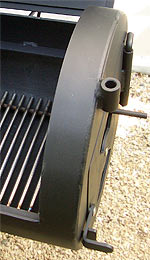 Barbecue Smoker Feuerbox
