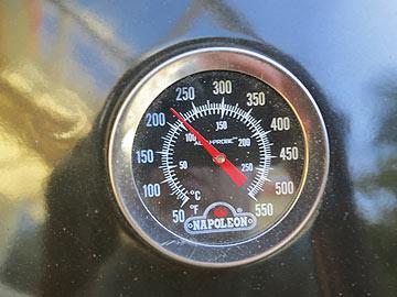 Garkammer-Thermometer in Celsius und Fahrenheit