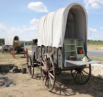Chuck Wagon, die Outdoor-Küche der US-Pioniere