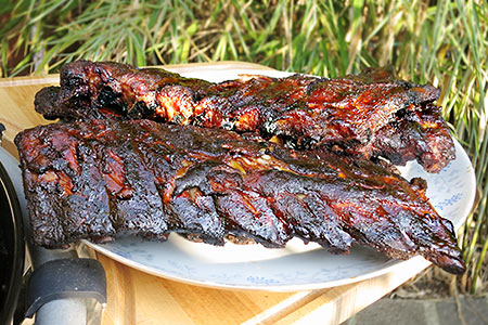 Ribs im Roesle Kugelgrill