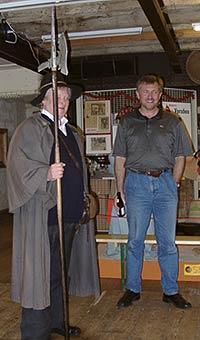 Volker Roggenkamp und Ingo Vierk in Spicy's Gewürzmuseum