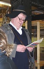 Volker Roggenkamp liest Ringelnatz