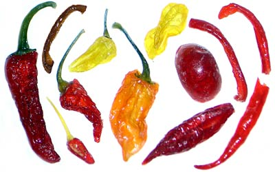 Kandierte Chilis