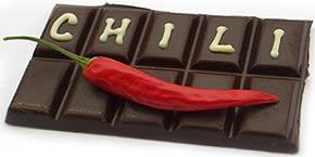 Chilis und Schokolade