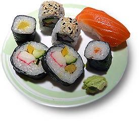 Sushi - ohne Wasabi nur der halbe Genuss