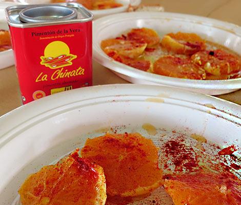 Arancia con Pimentón (Orangensalat mit Pimentón de la Vera)