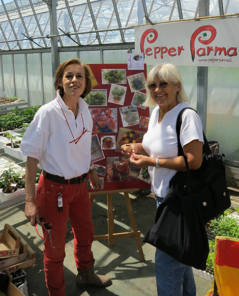 Manuela (PepperParma) und Renate (Pepperworld)
