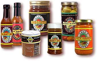Ein paar Dave-Produkte