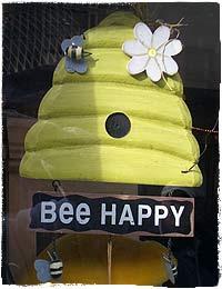 Im Schaufenster des Killerbee-Shops