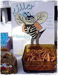 Killerbienenhonig-Probe