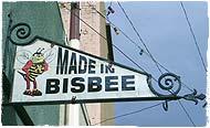 Zeichen über dem Killerbienen-Shop