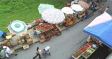 Wochenmarkt in Diamante