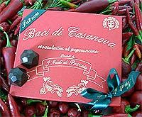 Baci di Casanova - Pikant gefüllte Schoko-Pralinen
