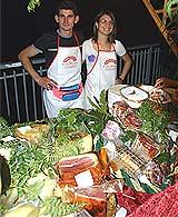 Pikante Fleisch- und Käsespezialitäten
