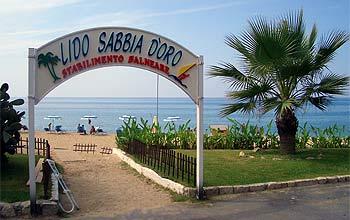 "Sabbia d' Oro (""goldener Sand"")"
