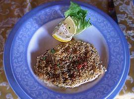 Schwertfisch mit Peperoncino-Kruste
