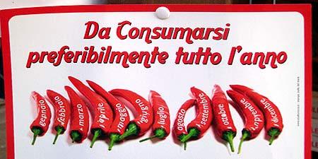 Chilis am besten das ganze Jahr hindurch konsumieren...