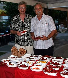 Harald Zoschke (links) und Massimo Biagi