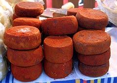Chili-gepuderter Pecorino