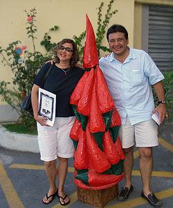 Tomas Gonzales und Gattin Rosa-Nidia