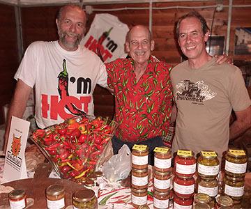 Marco, Dave und Maurizio