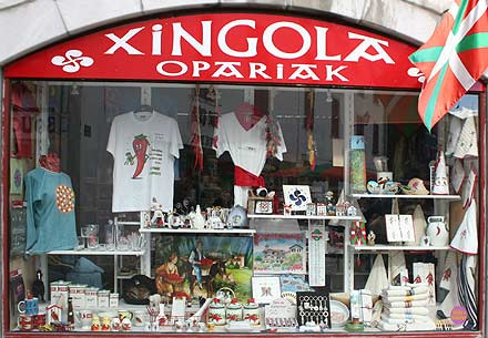 Hot Shop in Espelette